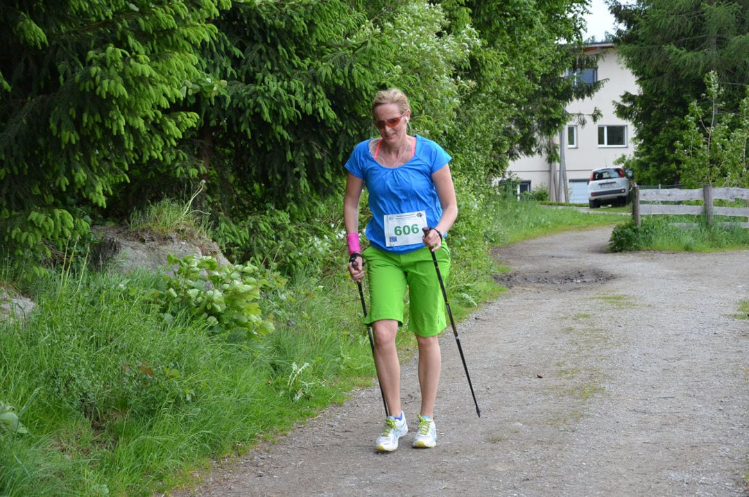 Arthrose und Nordic Walking