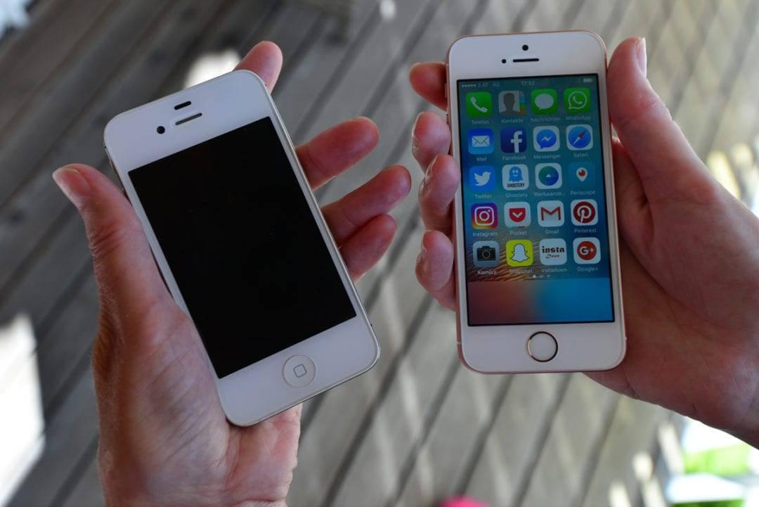 Smartphones nutzen mit Arthrose