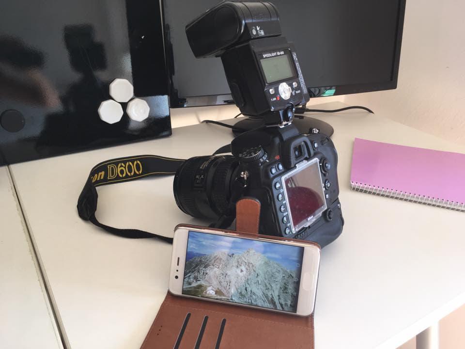 Smartphone für Fotos nutzen bei Rhizarthrose