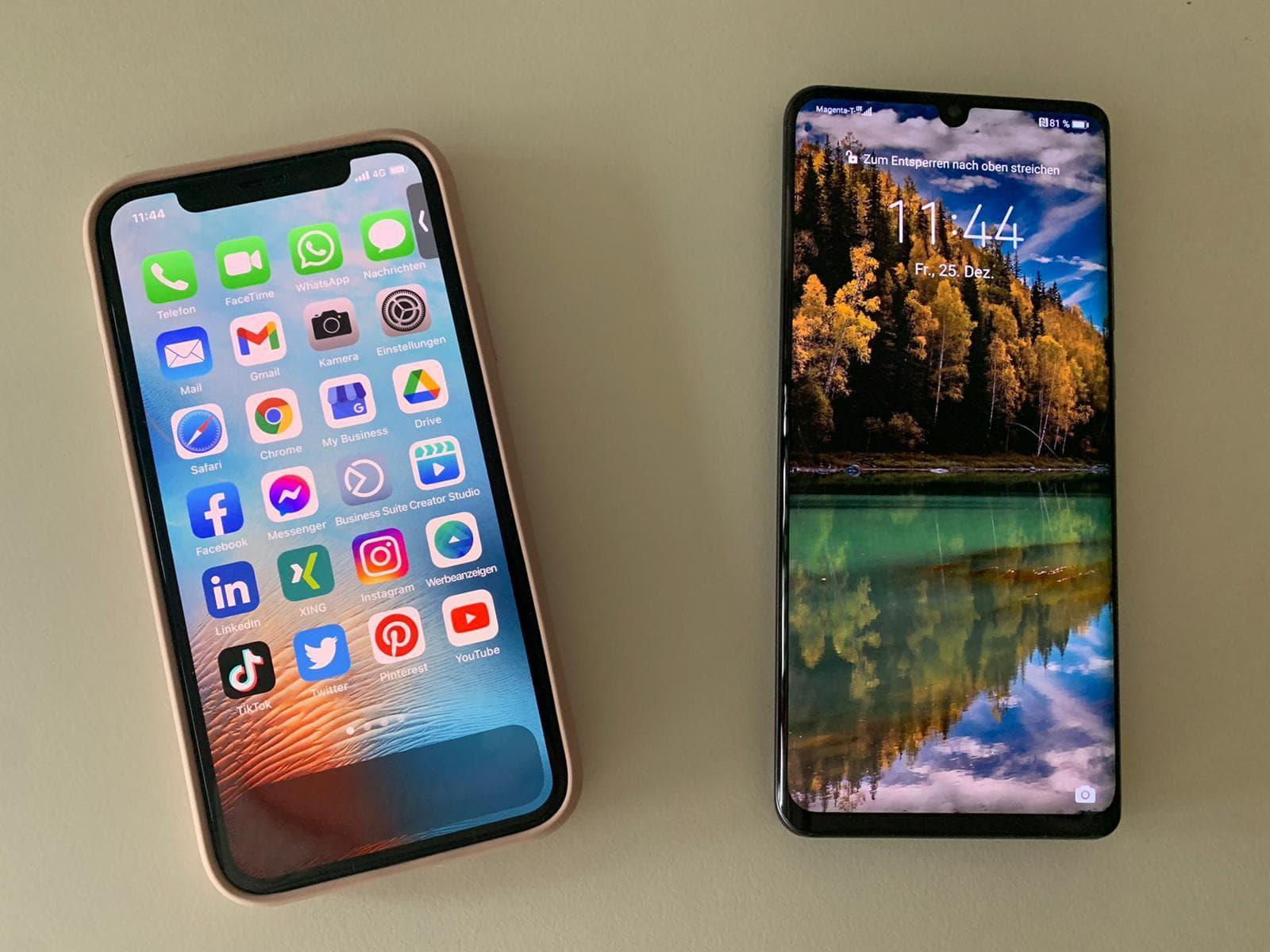 Mit Smartphone und Rhizarthrose telefonieren