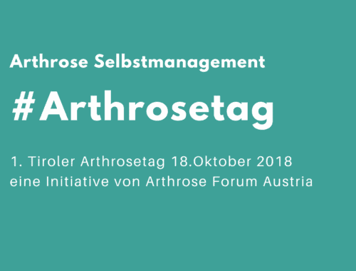 Tiroler Arthrosetag in Innsbruck