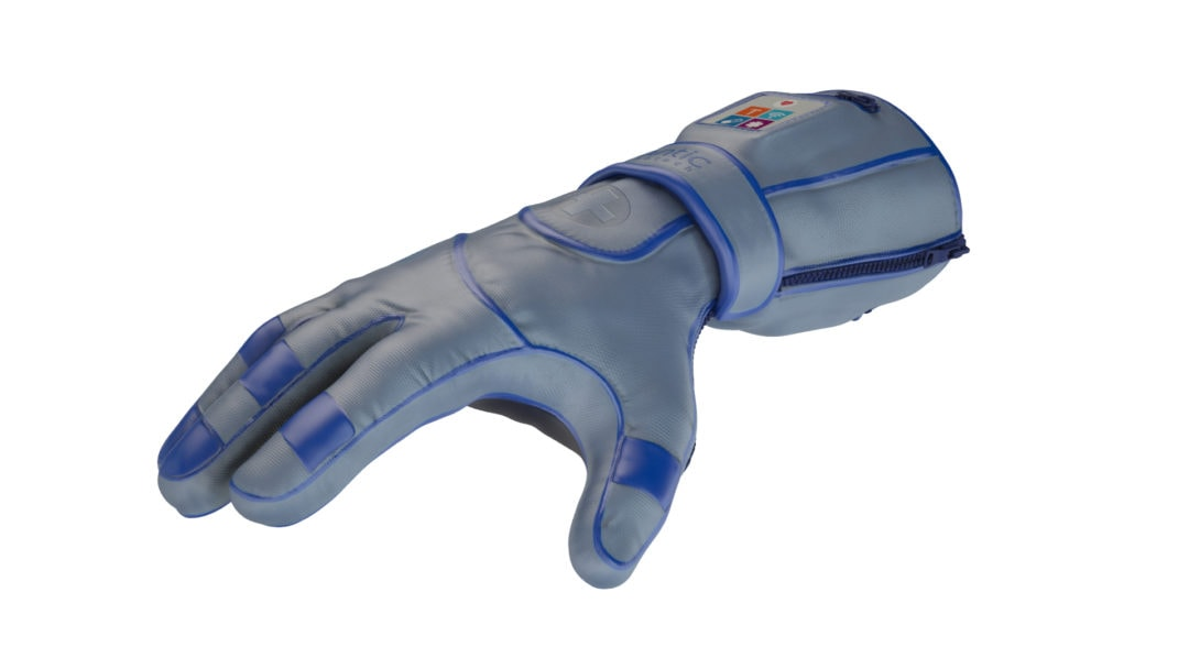 Arthrose Handschuh QNANO GLOVE - erstes Digital Weareable Glove System