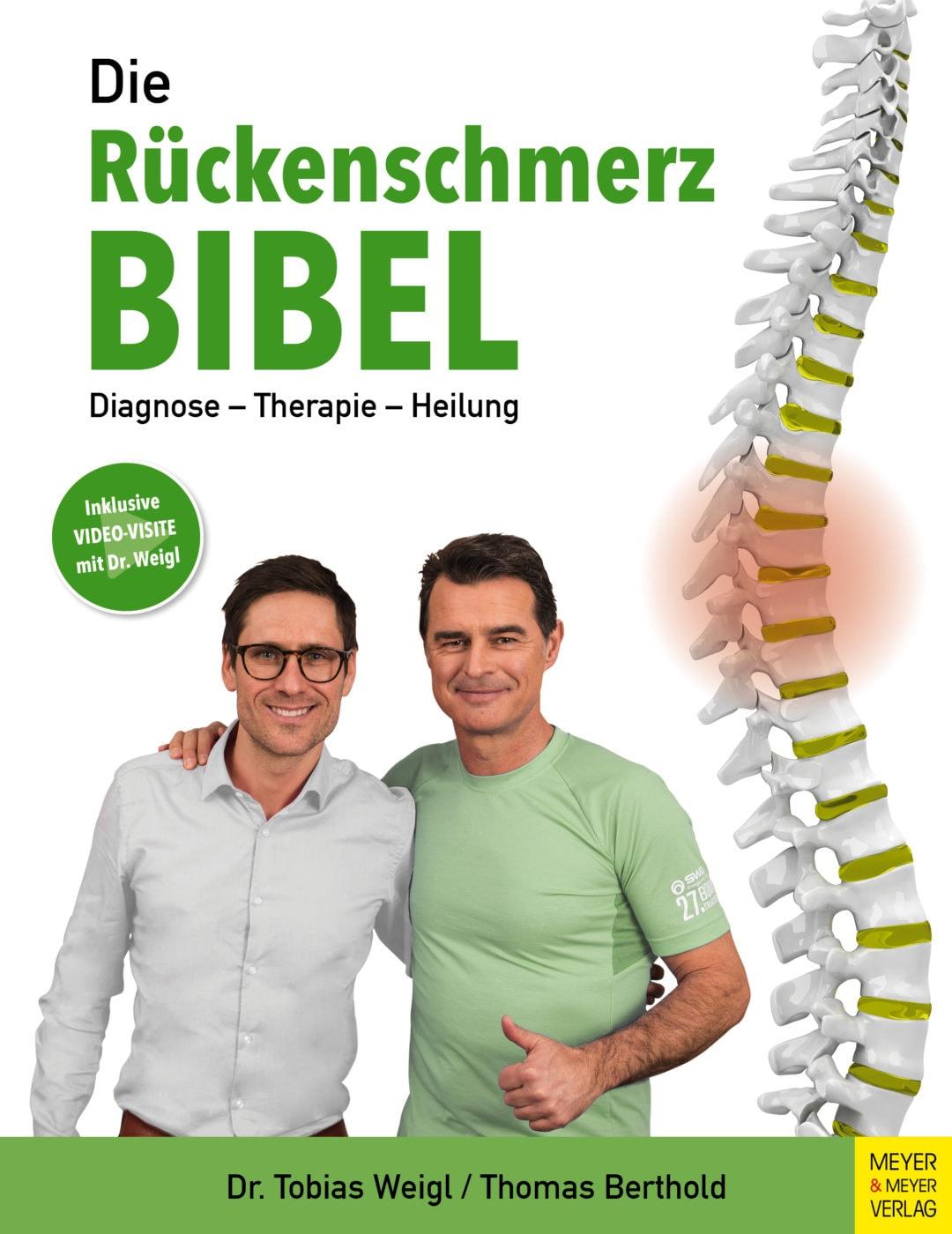 Rückenschmerzen und Arthrose in der Wirbelsäule