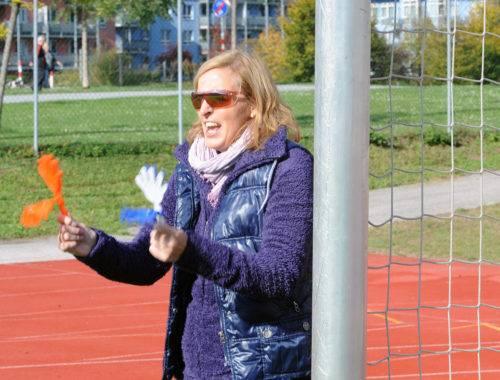 Arthrose Klatsche beim Fussballmatch