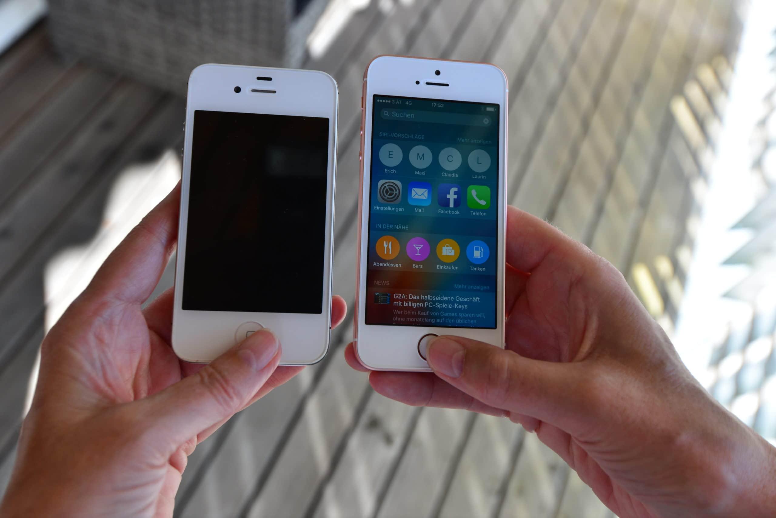 Smartphones mit Arthrose nutzen