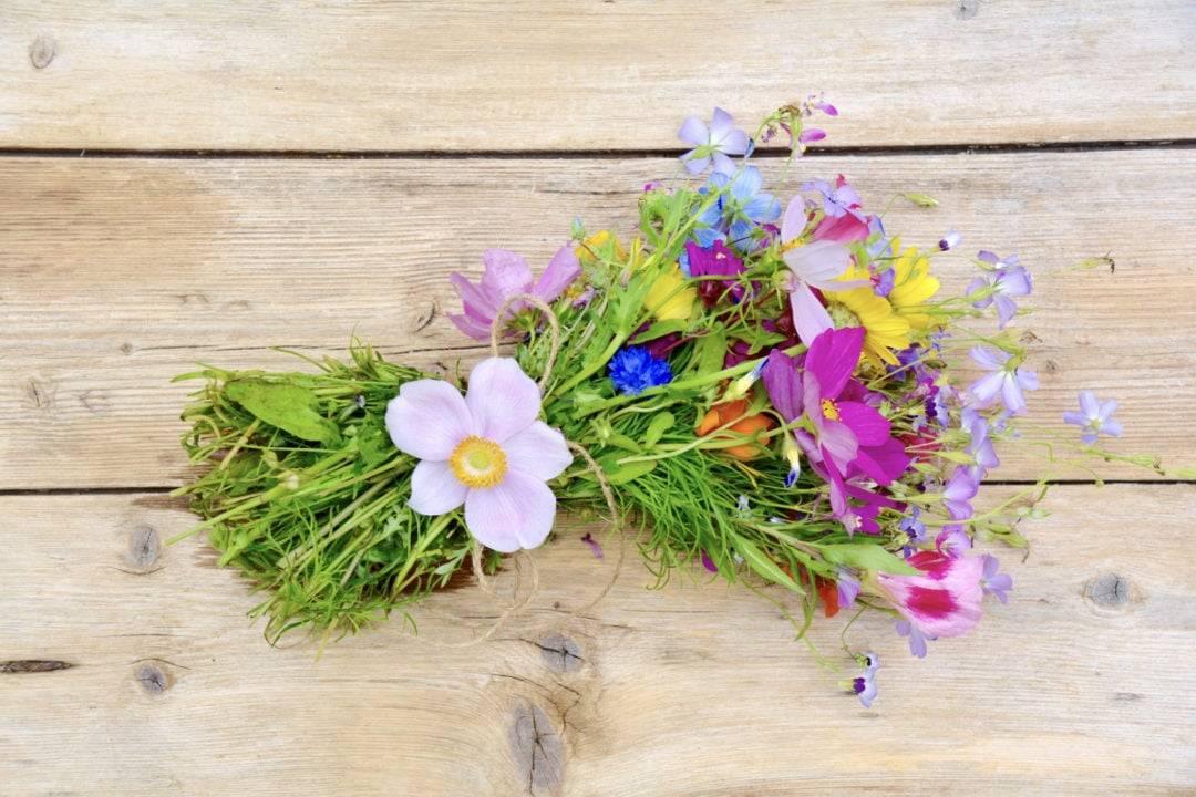 Blumenstrauss Therapie hilft bei Arthrose