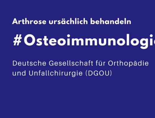 Arthrose verstehen mit Osteoimmunologie